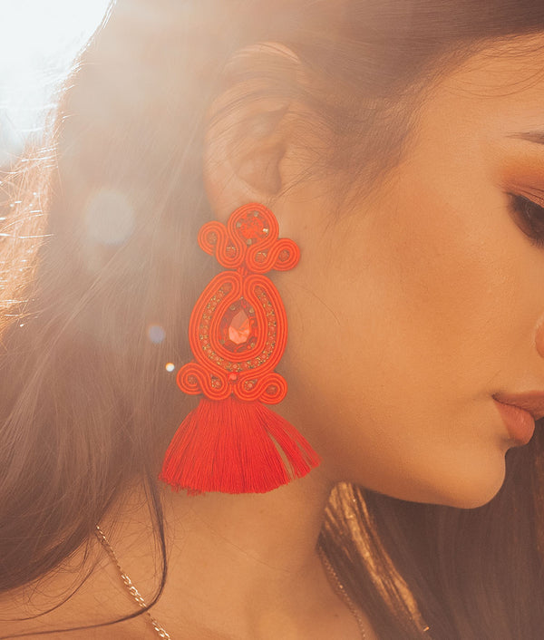 Princesita Tassel Earrings