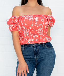 Florecita Off The Shoulder Top