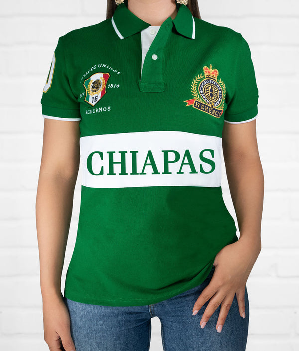 Chiapas Women's Short Sleeve Polo