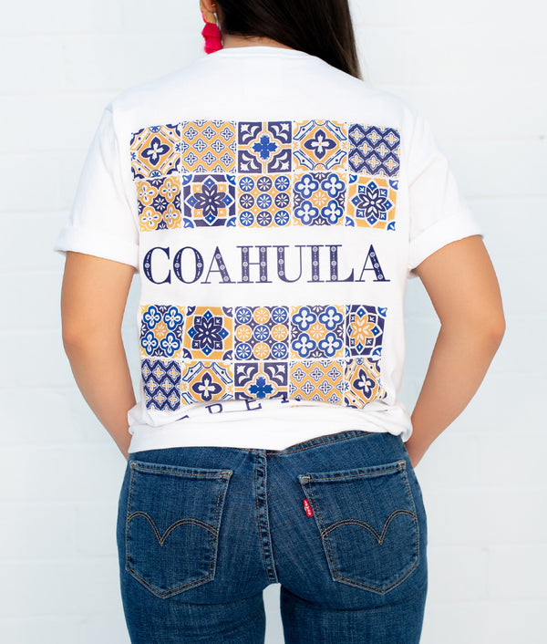Coahuila Hacienda Short Sleeve Pocket Tee