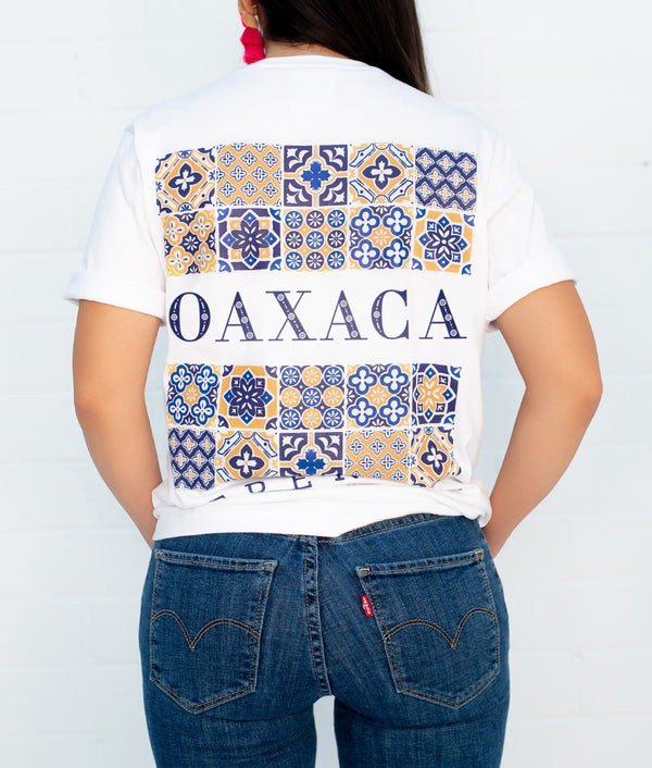 Oaxaca Hacienda Short Sleeve Pocket Tee