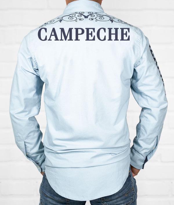 Campeche Men's Jaripeo Button-Down