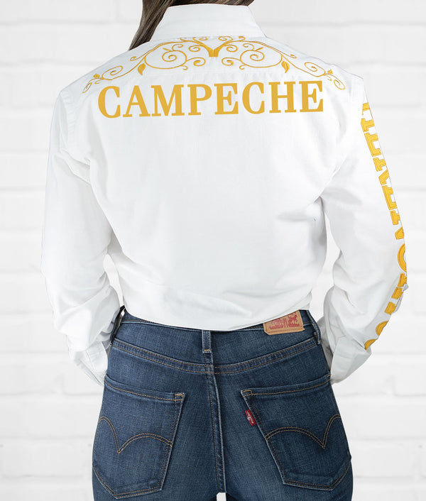 Campeche Women's Jaripeo Button-Down