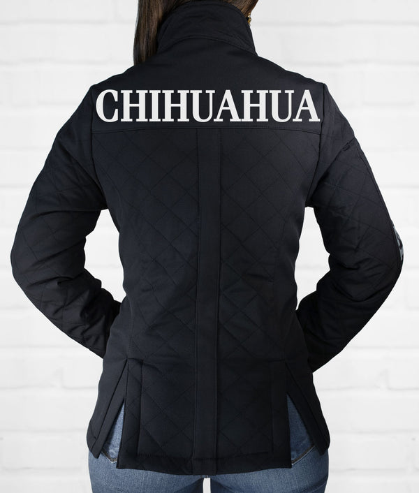 Chihuahua Women's Quilted Softshell Jacket