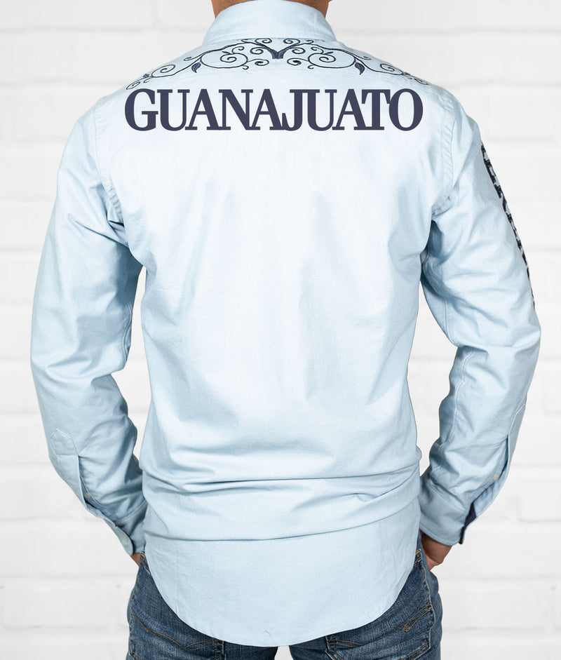 Guanajuato Men's Jaripeo Button-Down
