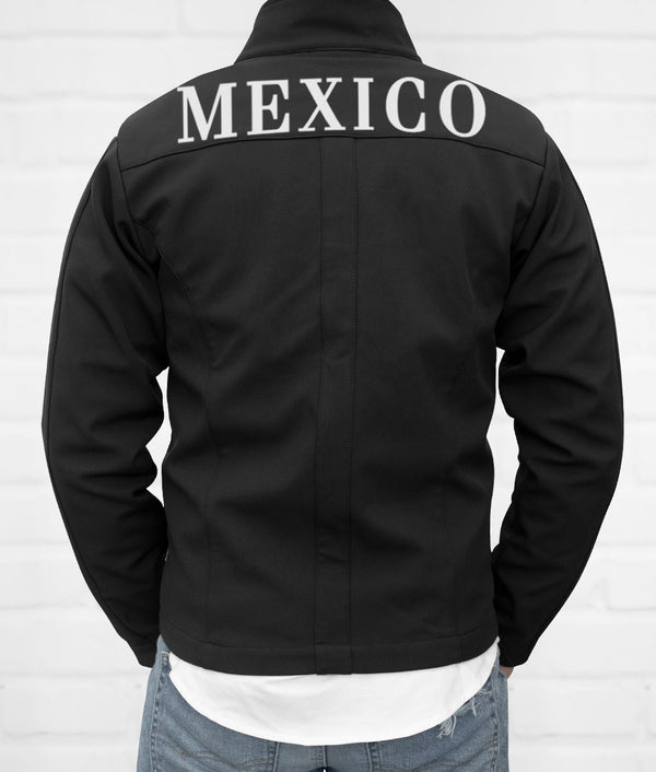 Mexico Men's Softshell Jacket