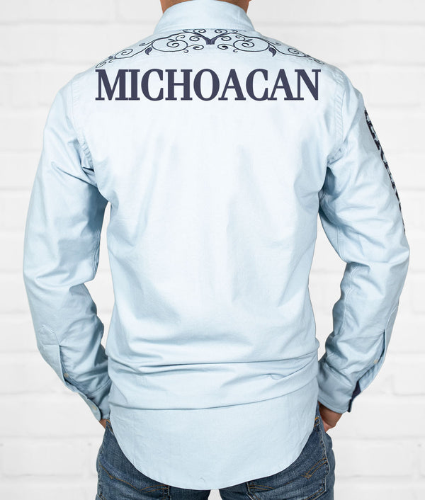 Michoacan Men's Jaripeo Button-Down