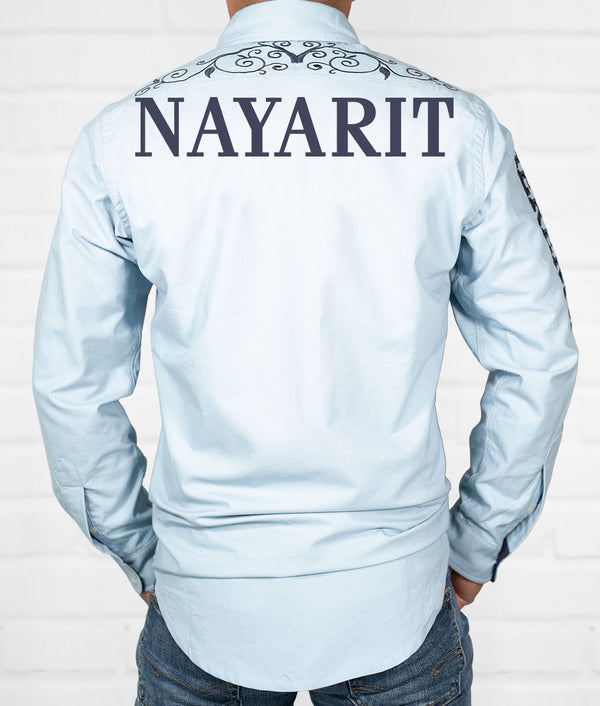 Nayarit Men's Jaripeo Button-Down