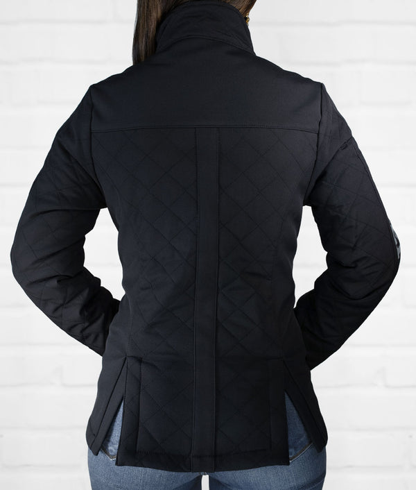 Women's Quilted Softshell Jacket