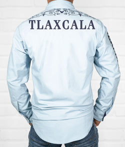 Tlaxcala Men's Jaripeo Button-Down