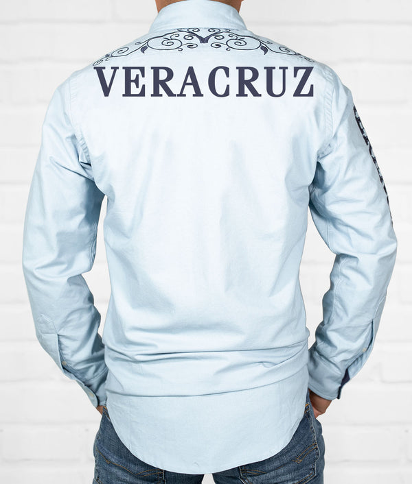 Veracruz Men's Jaripeo Button-Down