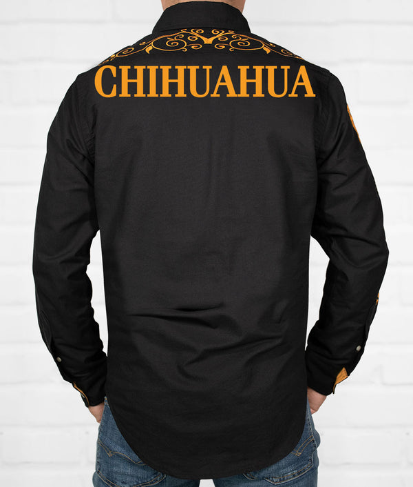 Chihuahua Men's Jaripeo Button-Down
