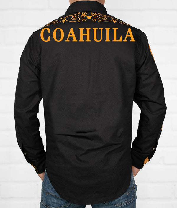 Coahuila Men's Jaripeo Button-Down