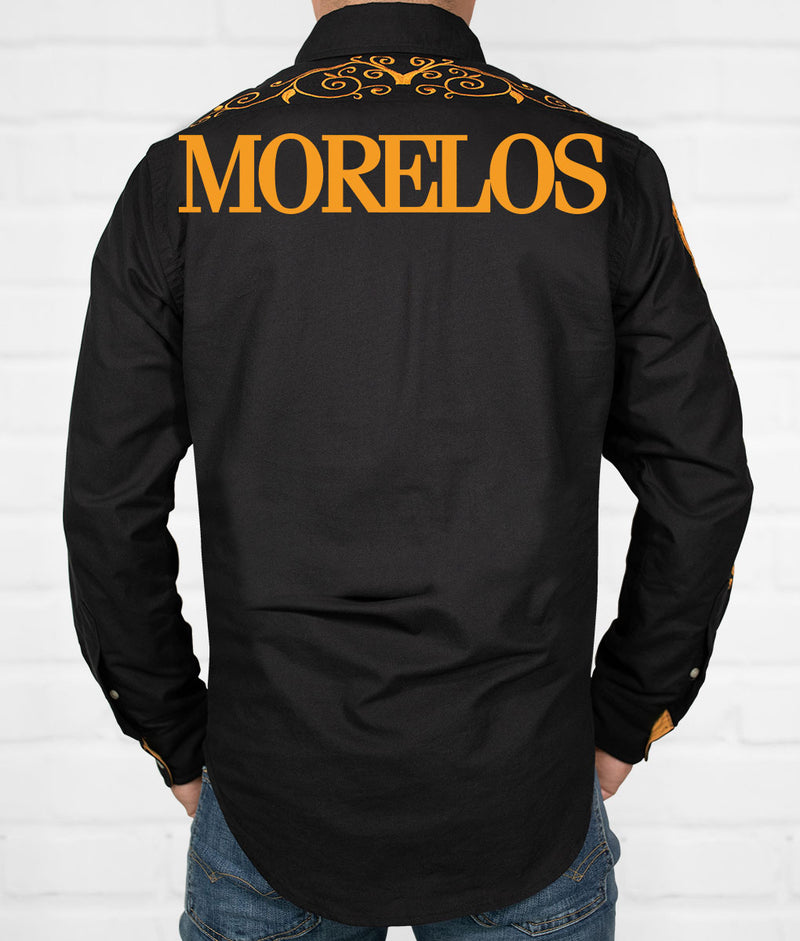 Morelos Men's Jaripeo Button-Down