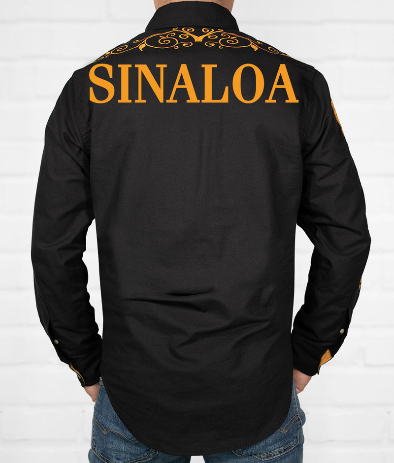 Sinaloa Men's Jaripeo Button-Down