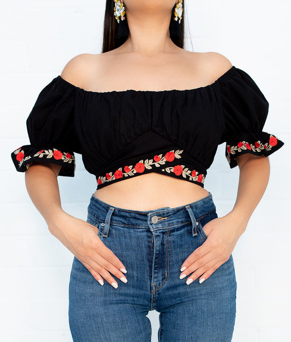 Lucero Crop Top