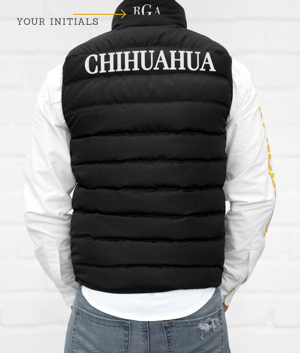 Chihuahua Men's Down Vest