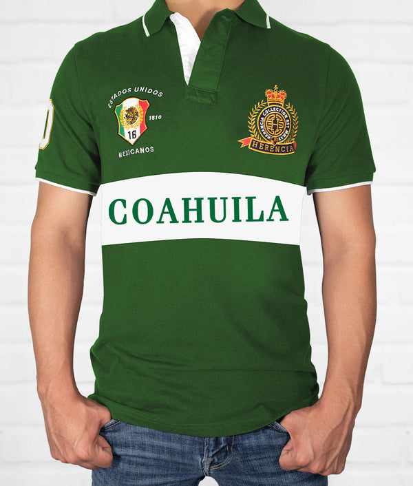 Coahuila Men's Short Sleeve Polo
