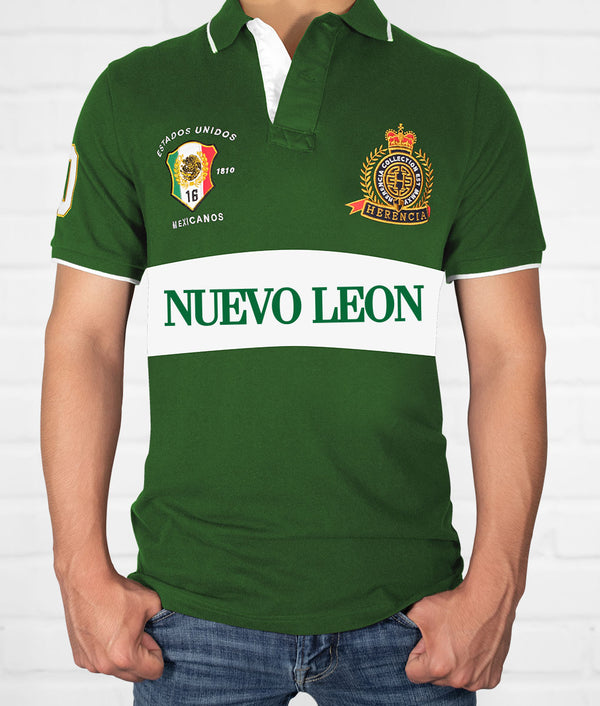 Nuevo Leon Men's Short Sleeve Polo