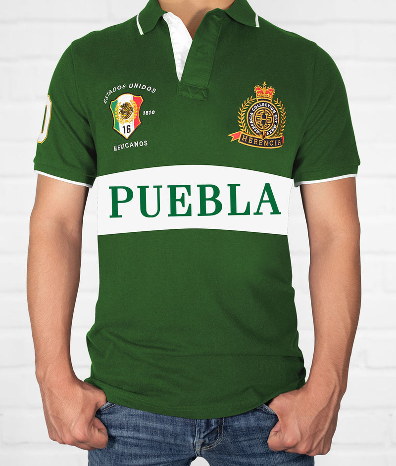 Puebla Men's Short Sleeve Polo
