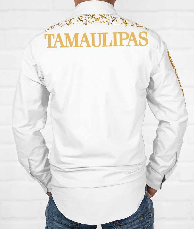 Tamaulipas Men's Jaripeo Button-Down