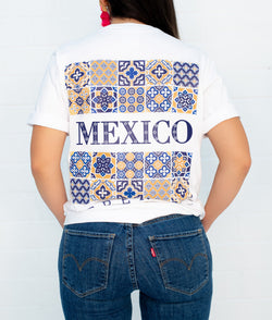 Mexico Hacienda Short Sleeve Pocket Tee