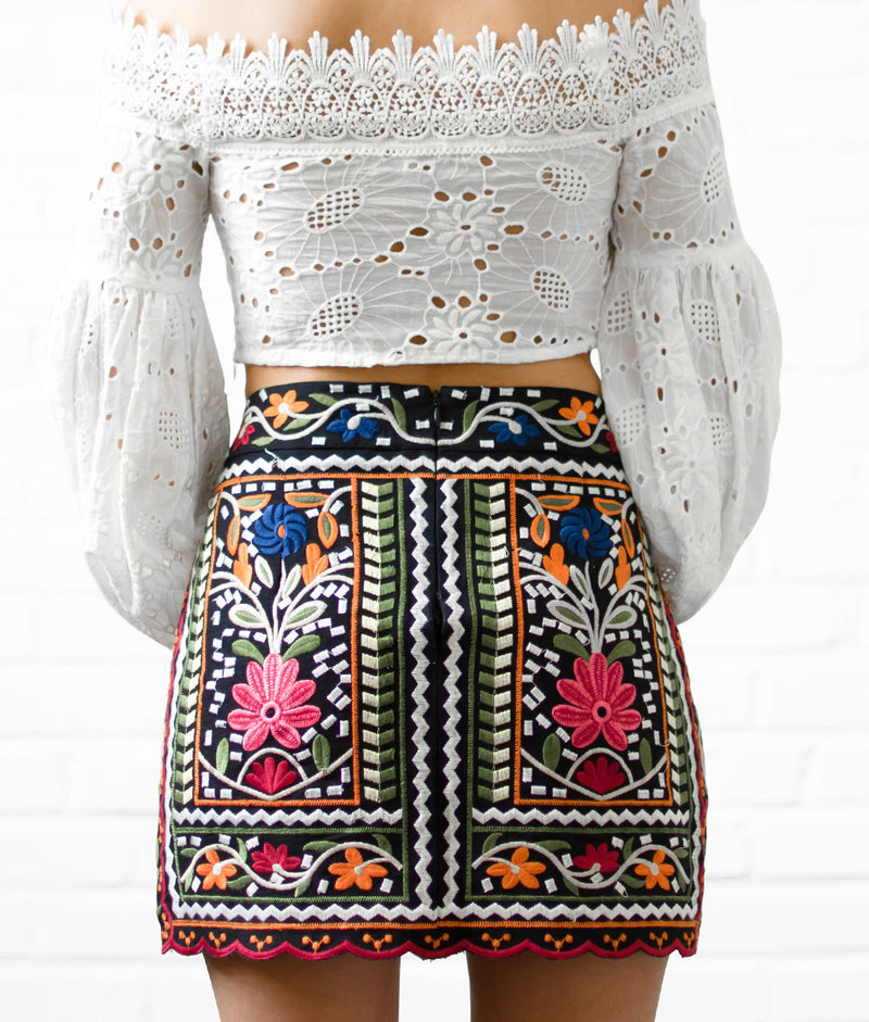 Nayarit Reina Skirt