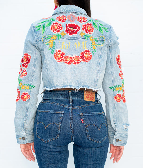 Last Name Traviesa Denim Jacket