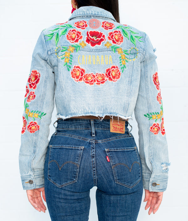 Chihuahua Traviesa Denim Jacket