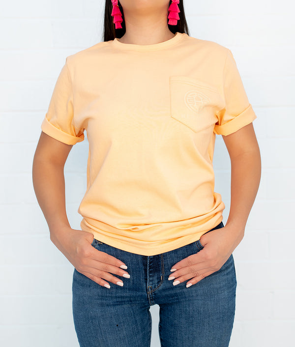 The Way To My Heart Short Sleeve Pocket Tee
