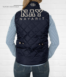 Nayarit Women's Quilted Vest