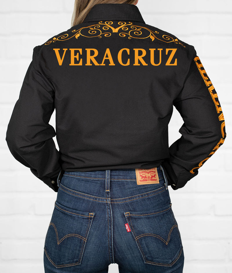 Veracruz Women's Jaripeo Button-Down