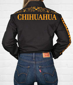 Chihuahua Women's Jaripeo Button-Down