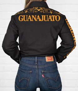 Guanajuato Women's Jaripeo Button-Down