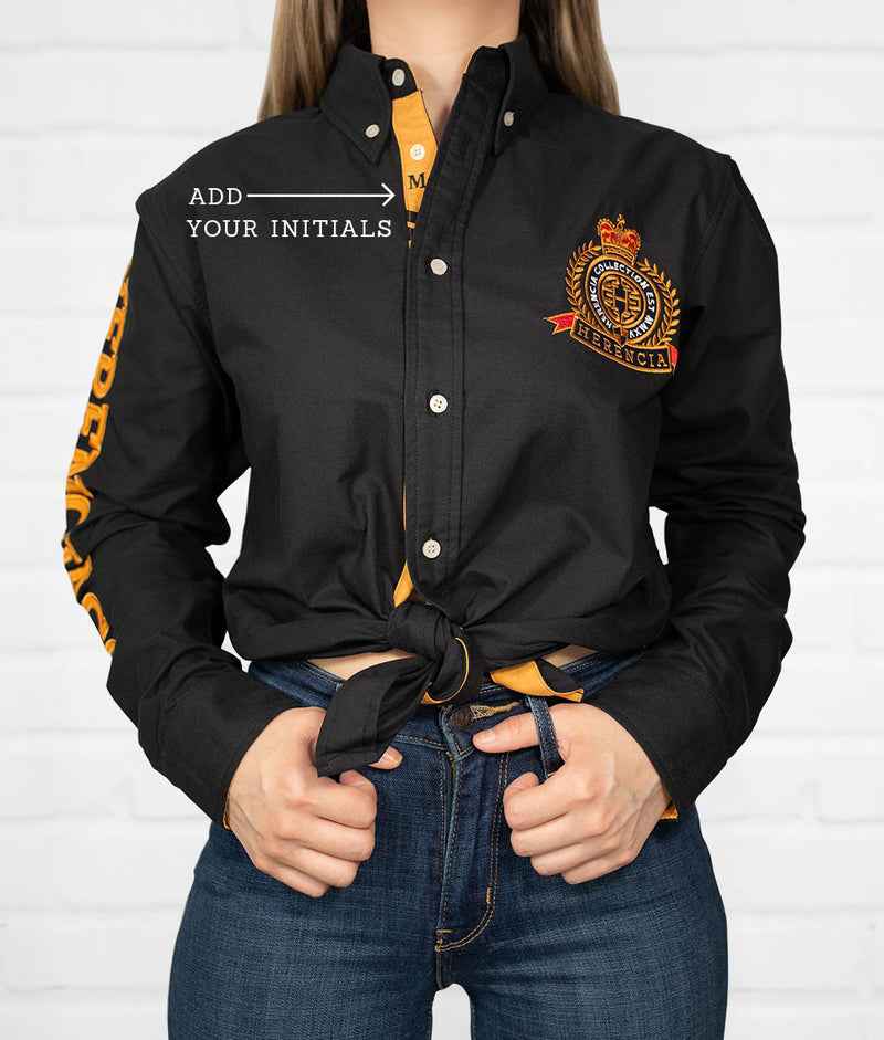 San Luis Potosi Women's Jaripeo Button-Down