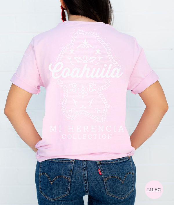 Coahuila Western Short Sleeve Pocket Tee