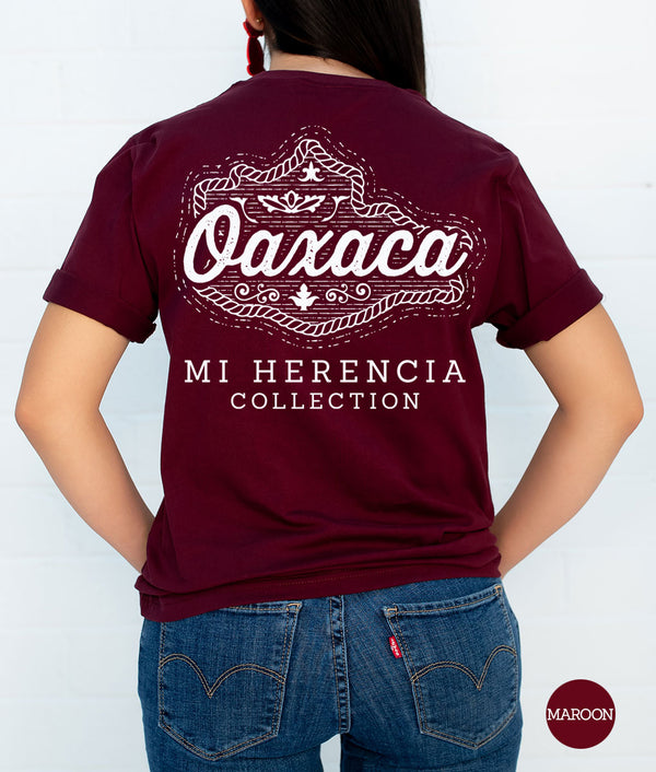 Oaxaca Western Short Sleeve Pocket Tee