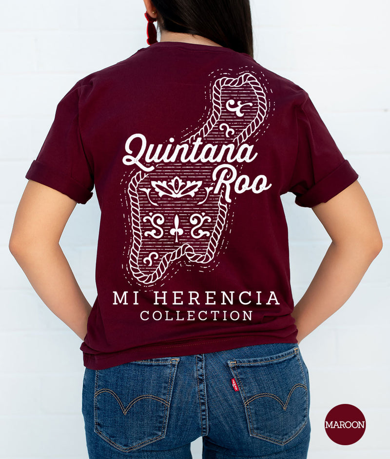 Quintana Roo Western Short Sleeve Pocket Tee