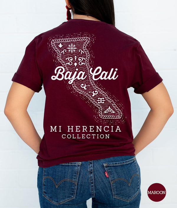 Baja California Western Short Sleeve Pocket Tee