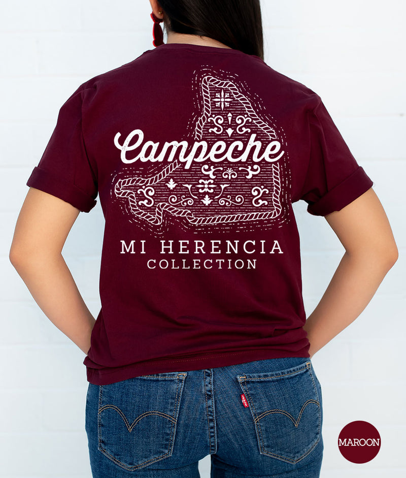 Campeche Western Short Sleeve Pocket Tee