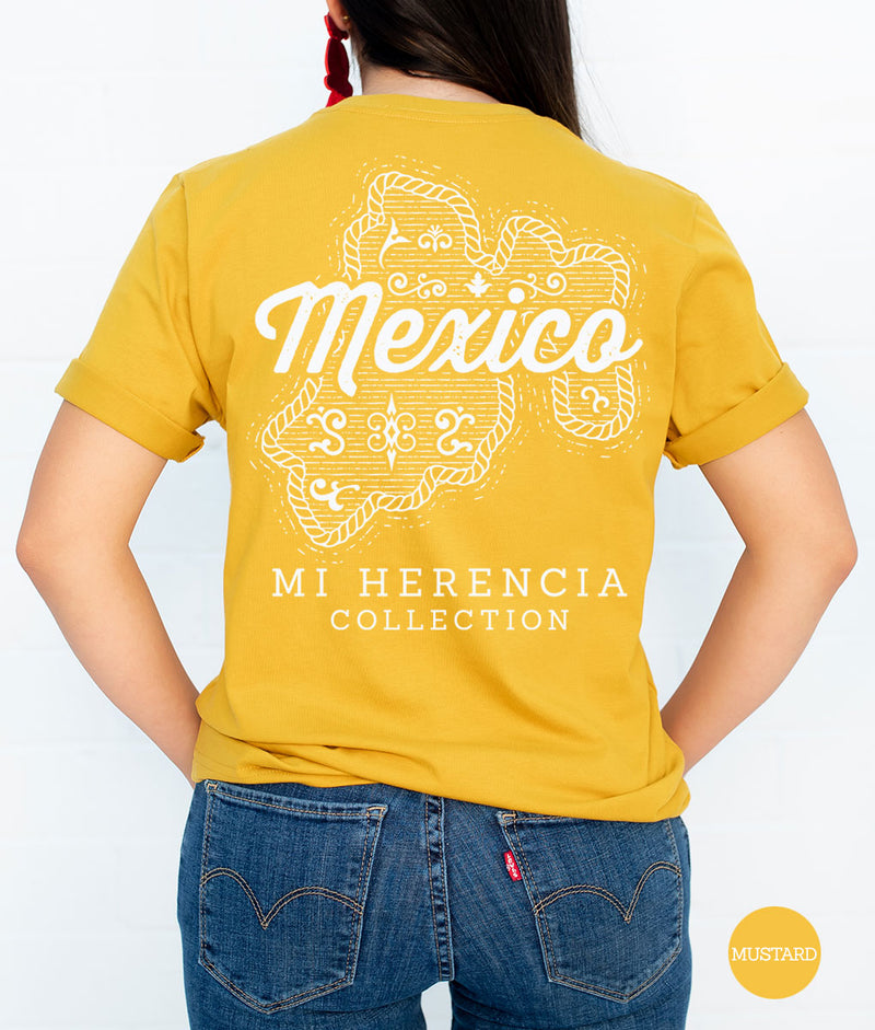 State Western Short Sleeve Pocket Tee (MUSTARD)