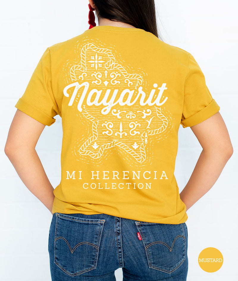 Nayarit Western Short Sleeve Pocket Tee