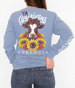 Ya Quisieras Long Sleeve Pocket Tee