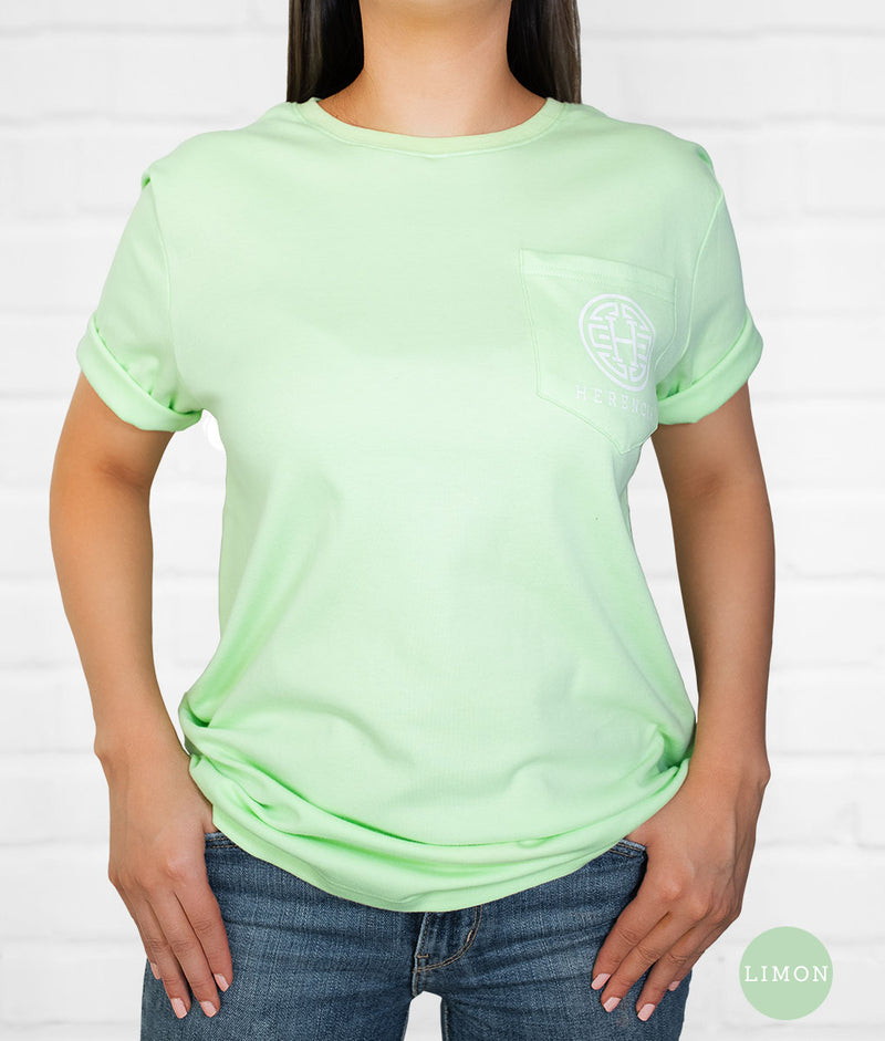 Colima Country Short Sleeve Pocket Tee