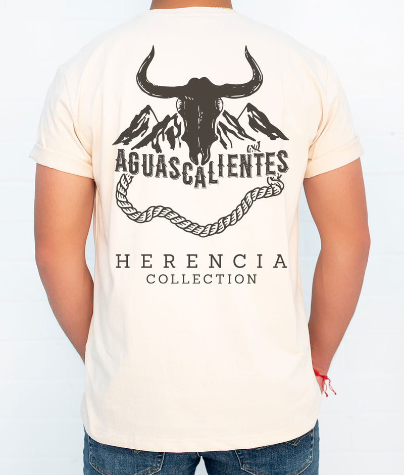 Aguascalientes Country Men's Short Sleeve Pocket Tee