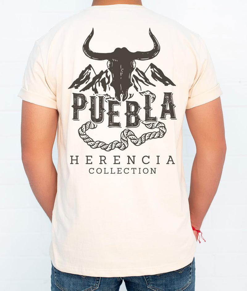 Puebla Country Men's Short Sleeve Pocket Tee