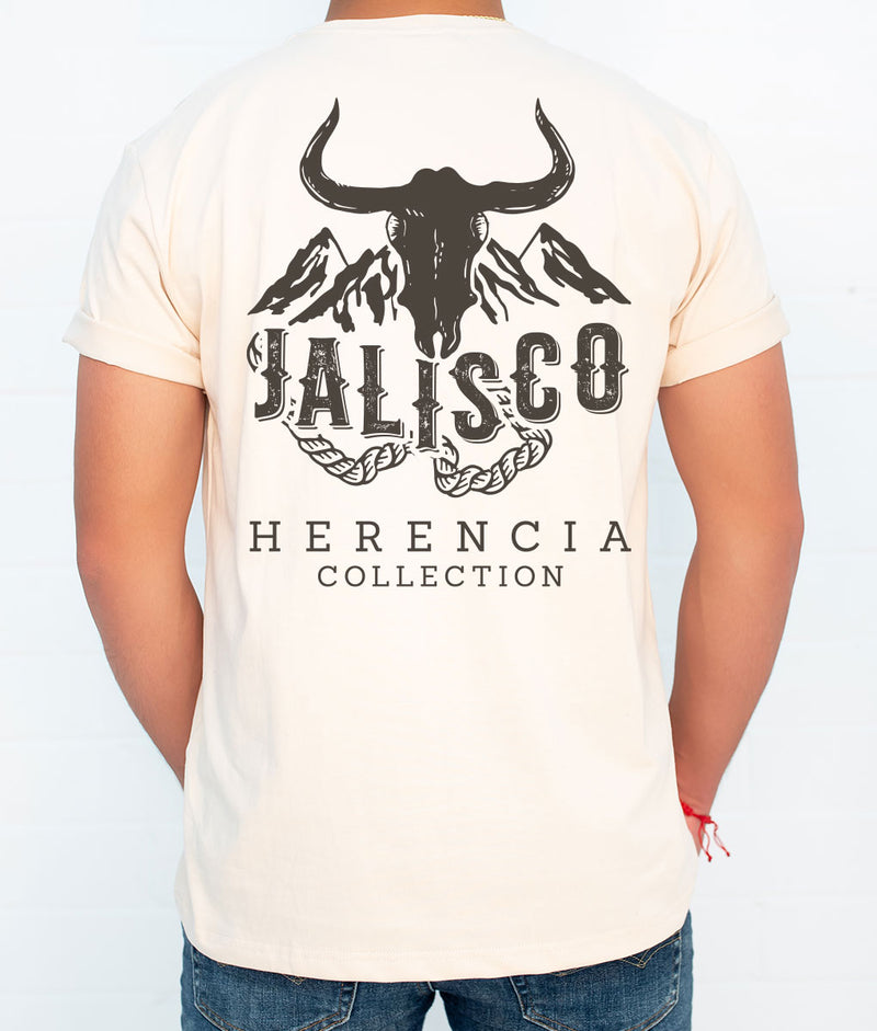 Jalisco Country Men's Short Sleeve Pocket Tee