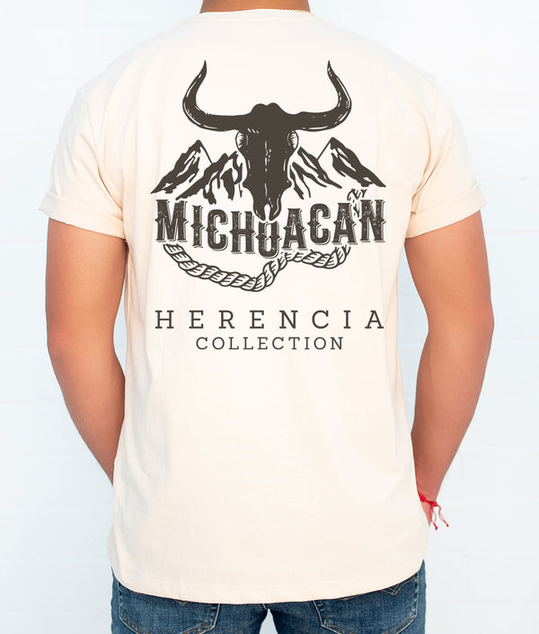 Michoacan Country Men's Short Sleeve Pocket Tee