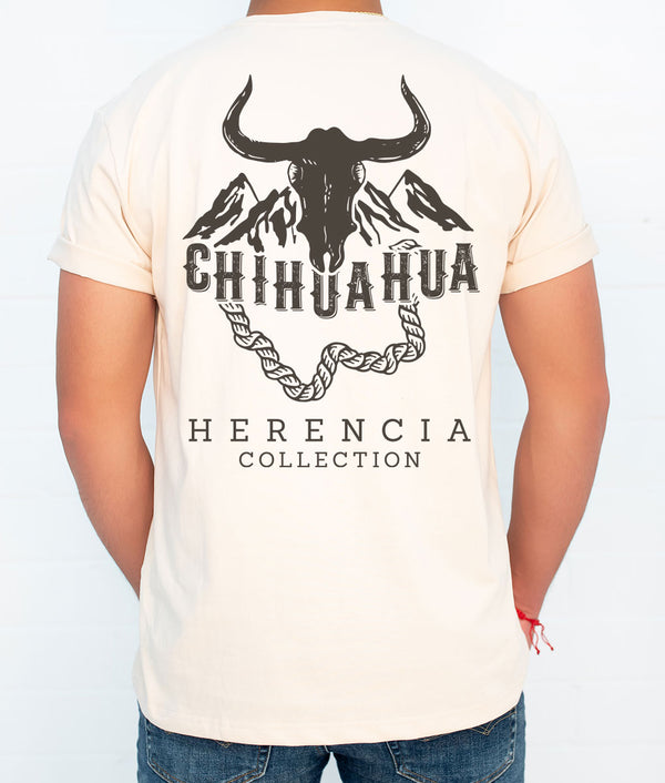 Chihuahua Country Men's Short Sleeve Pocket Tee