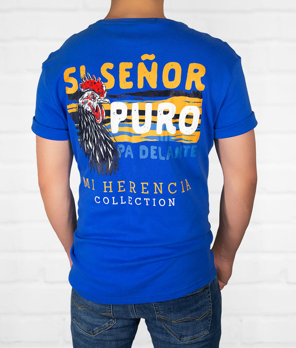 Si Señor Men's Short Sleeve Pocket Tee